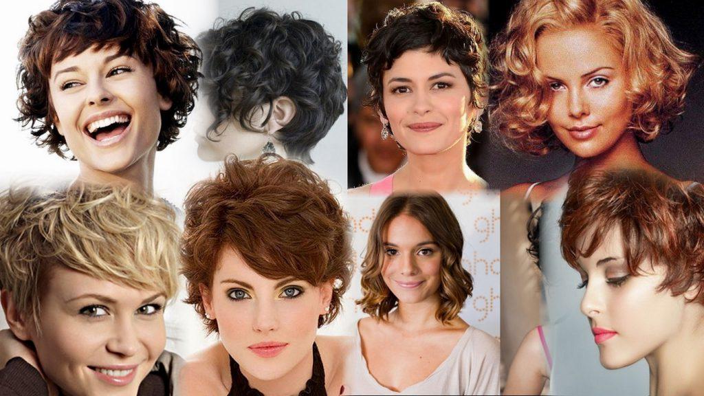 Прически на короткие волнистые волосы фото
