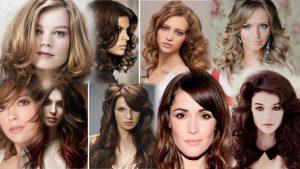 Прически на средние волнистые волосы фото