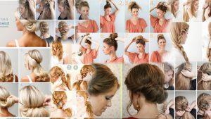 Прически на средние волосы фото легкие