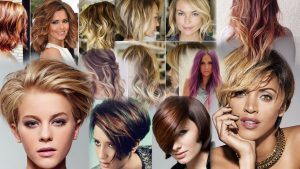 Прически с омбре фото на средние волосы