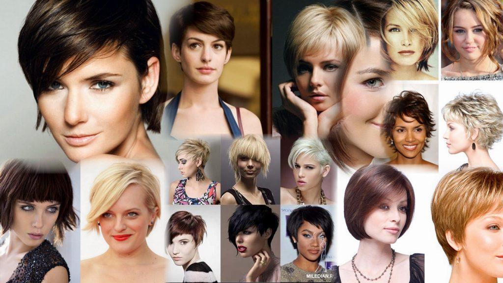 Простые стрижки на короткие волосы фото женские