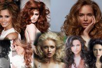 Пышные прически на средние волосы фото