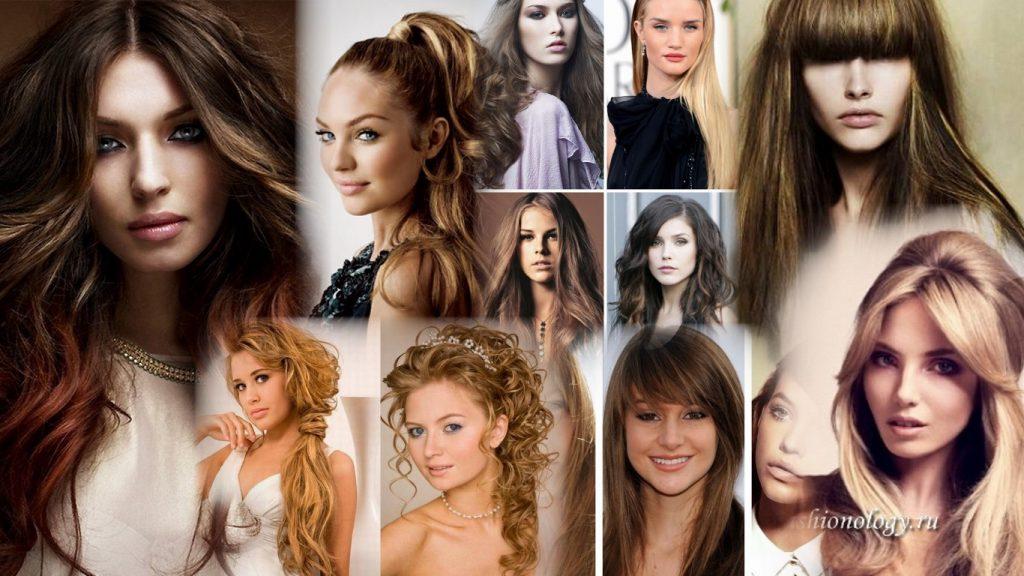Стильные прически на длинные волосы фото