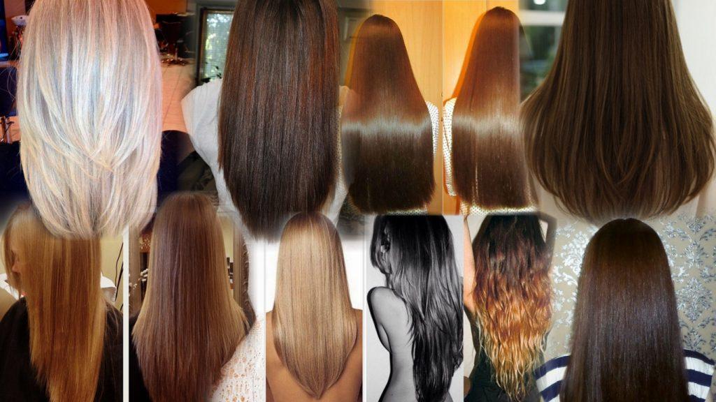 Стрижка кончиков волос полукругом фото