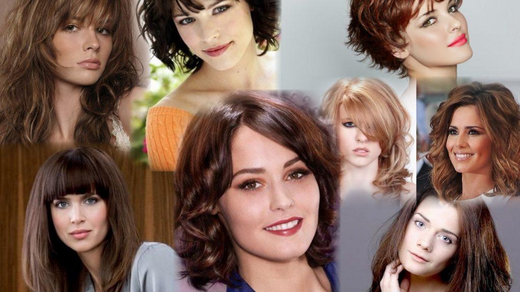 Стрижка на густые вьющиеся волосы фото