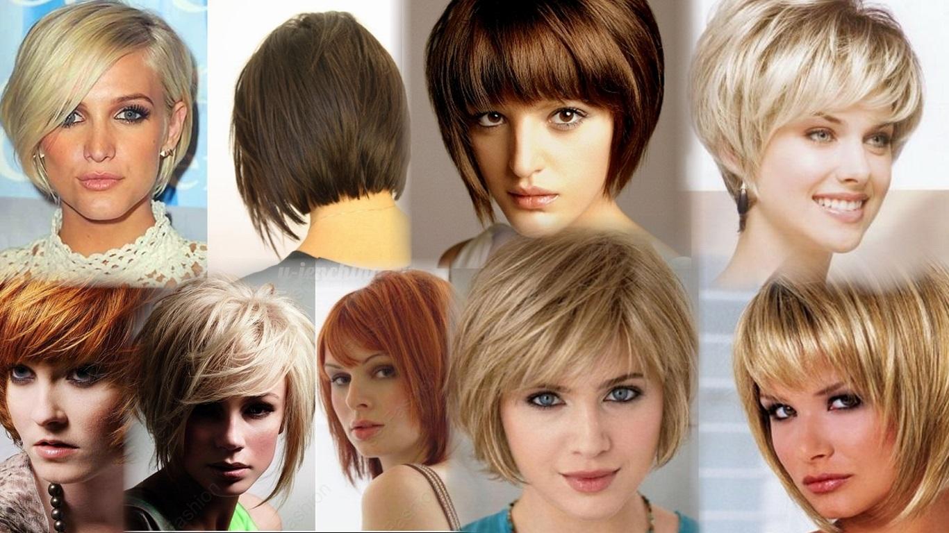 Стрижки градуированное каре на короткие волосы фото