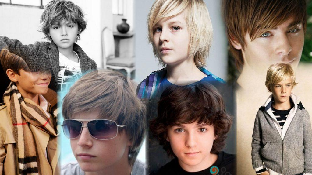 Стрижки для мальчиков на длинные волосы фото