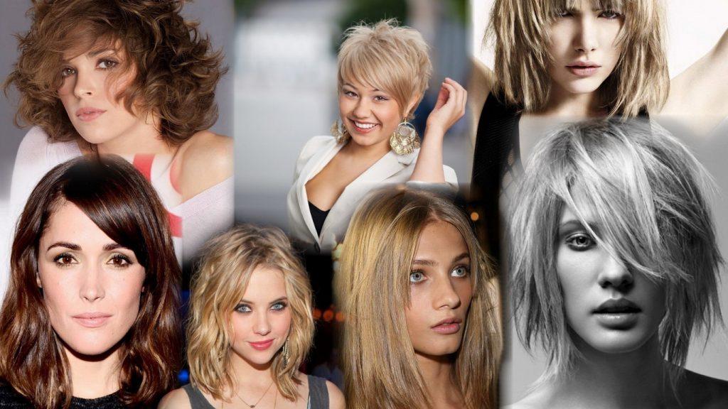 Стрижки для непослушных волос средней длины фото