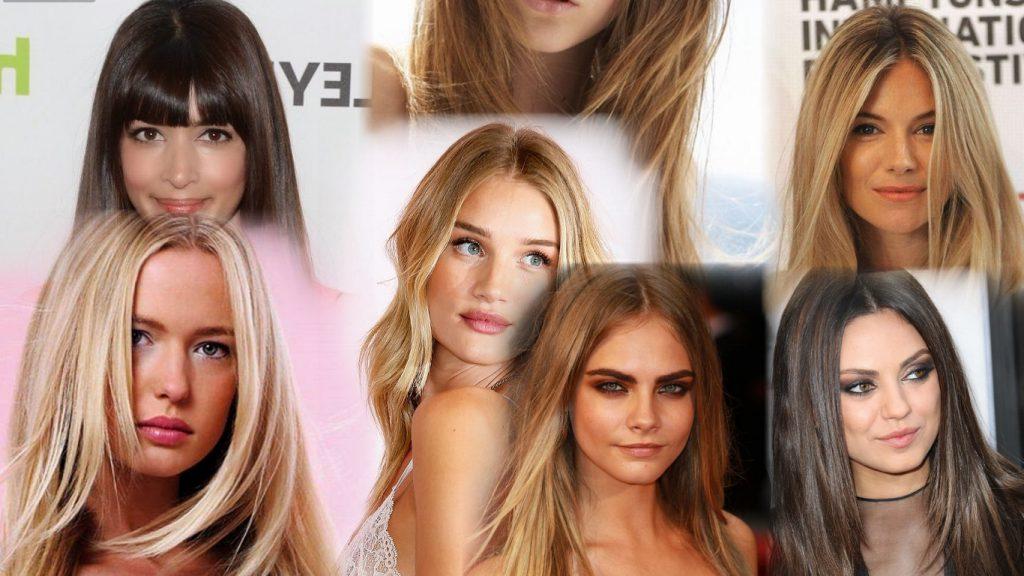 Стрижки на длинные прямые волосы фото