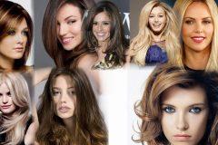 Стрижки на средние волосы для объема фото