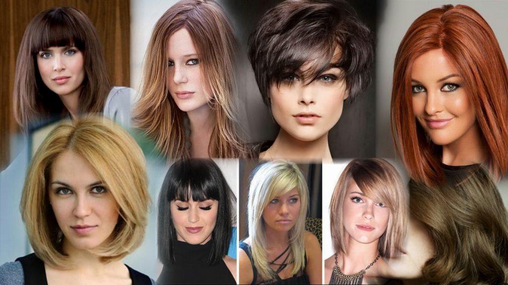 Стрижки на средние густые волосы фото
