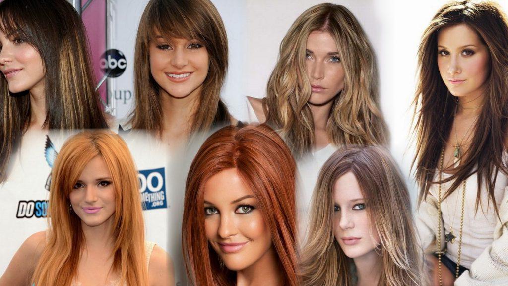 Стрижки с длинными волосами фото