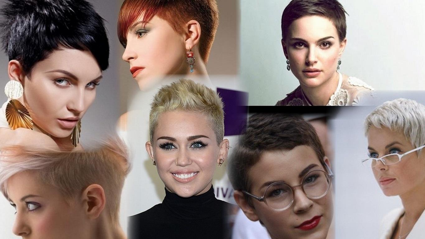 Очень короткие стрижки женские модельные