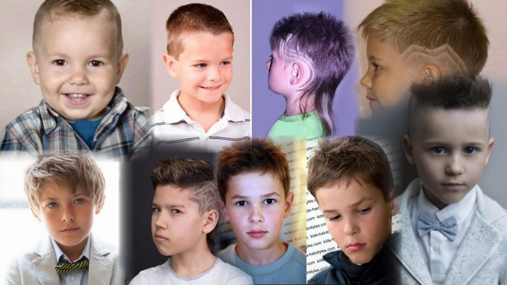 Модные стрижки для детей мальчиков фото