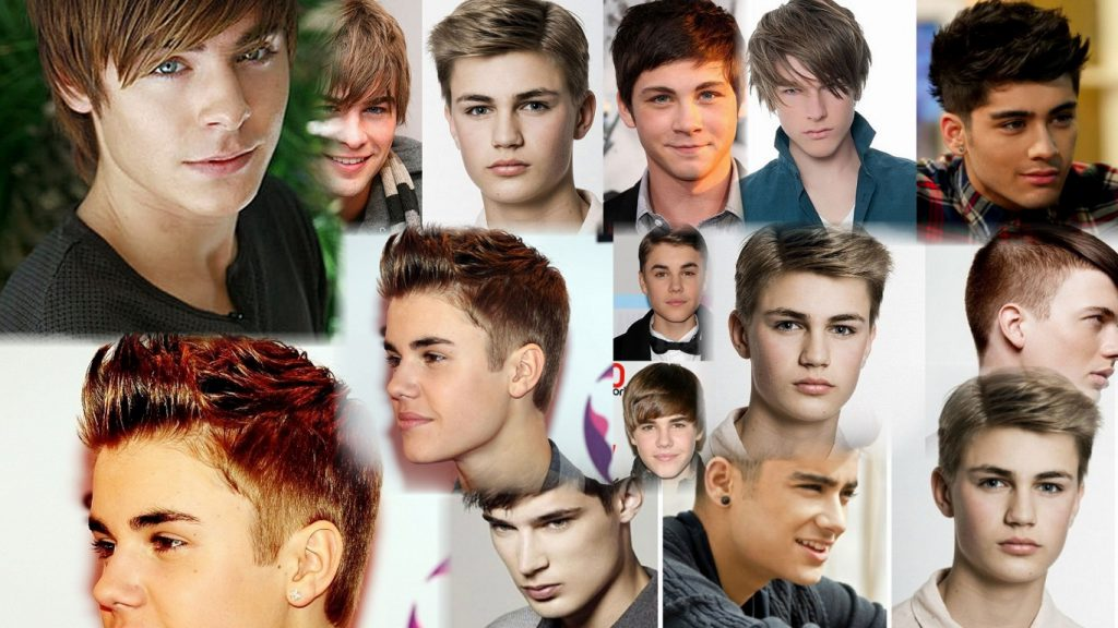 Модные стрижки для мальчиков подростков фото