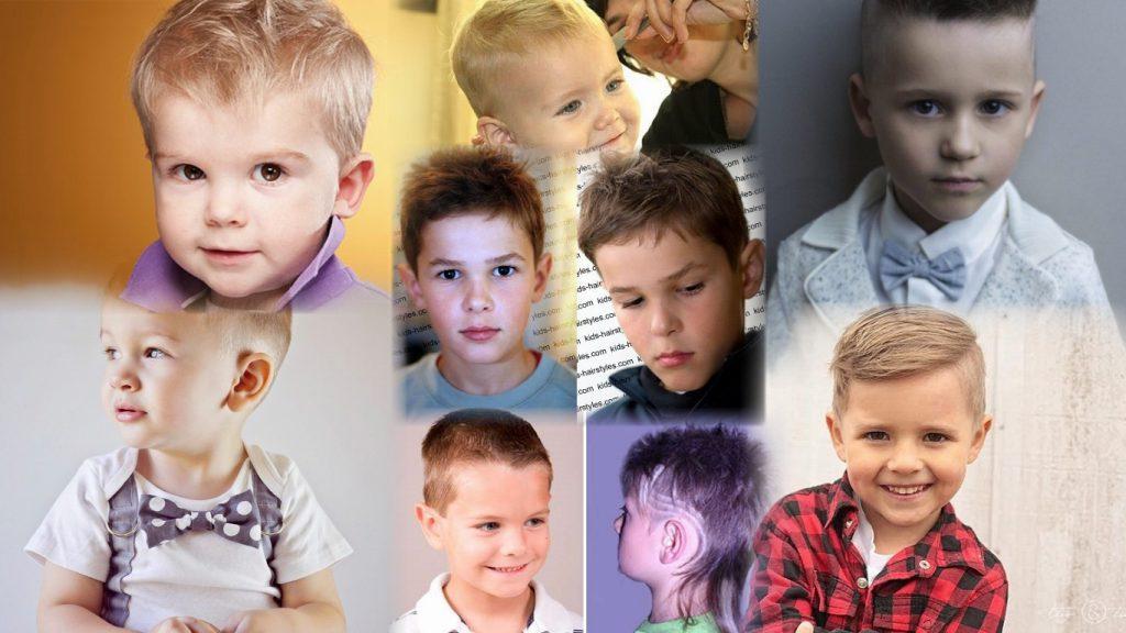 Стрижки для детей мальчиков фото
