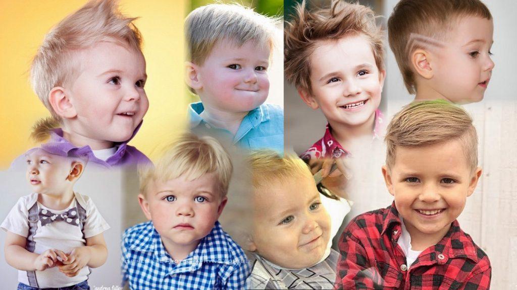 Стрижки для маленьких мальчиков фото
