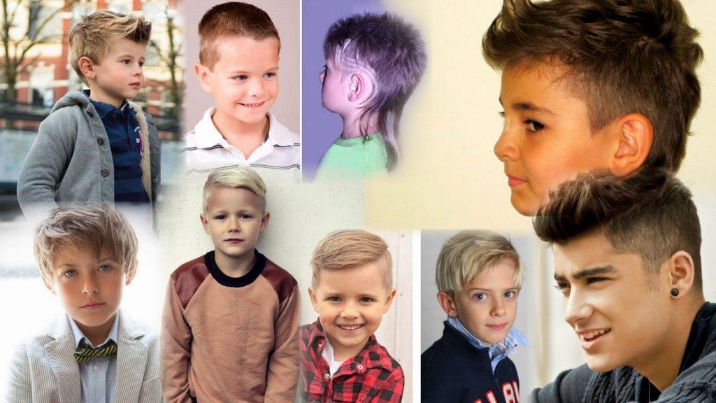 Стрижки на мальчика фото